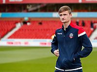Bolton Wanderers' Callum Connolly pictured before the match<br /> <br /> Photographer Andrew Kearns/CameraSport<br /> <br /> The EFL Sky Bet Championship - Nottingham Forest v Bolton Wanderers - Sunday 5th May 2019 - The City Ground - Nottingham<br /> <br /> World Copyright © 2019 CameraSport. All rights reserved. 43 Linden Ave. Countesthorpe. Leicester. England. LE8 5PG - Tel: +44 (0) 116 277 4147 - admin@camerasport.com - www.camerasport.com