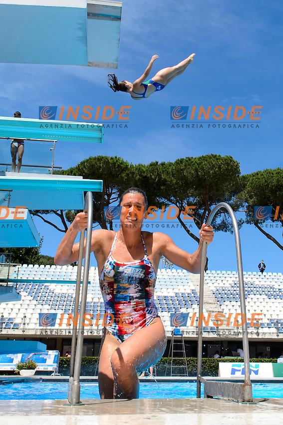 Francesca Dallape' <br /> 3m Trampolino Donne<br /> Roma 21-06-2016 Stadio del Nuoto Foro Italico Tuffi Campionati Italiani <br /> Foto Andrea Staccioli Insidefoto
