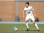 2 September 2007: Wake Forest's Justin Lichtfuss. The Wake Forest University Demon Deacons defeated the Monmouth University Hawks 2-0 at Fetzer Field in Chapel Hill, North Carolina in an NCAA Division I Men's Soccer game.