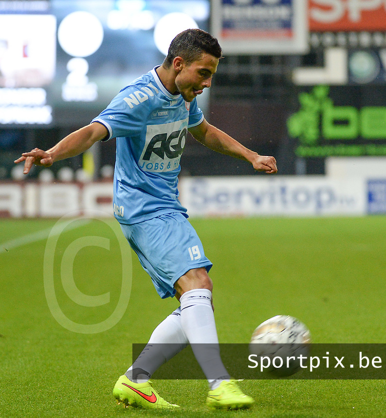 KV Kortrijk : Gregory Mahau <br /> foto VDB / BART VANDENBROUCKE
