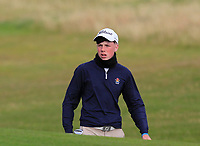 Liam Power (Galway) on the 14th during the Connacht Final of the AIG Barton Shield at Galway Bay Golf Club, Galway, Co Galway. 11/08/2017<br /> <br /> Picture: Golffile | Thos Caffrey<br /> <br /> <br /> All photo usage must carry mandatory copyright credit     (&copy; Golffile | Thos Caffrey)