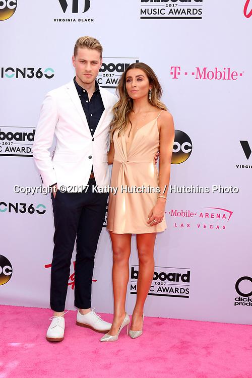 LAS VEGAS - MAY 21:  Cameron Fuller, Lauren Elizabeth at the 2017 Billboard Music Awards - Arrivals at the T-Mobile Arena on May 21, 2017 in Las Vegas, NV