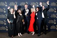 PASADENA - May 5: DailyMailTV in the press room at the 46th Daytime Emmy Awards Gala at the Pasadena Civic Center on May 5, 2019 in Pasadena, California