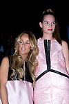 01.09.2012. Celebrities attending the AA de Amaya Arzuaga fashion show during the Mercedes-Benz Fashion Week Madrid Spring/Summer 2013 at Ifema. In the image Lara Vera and Marina Jamieson (Alterphotos/Marta Gonzalez)