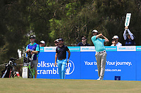 Simon Hawkes (AUS) on the 3rd tee during Round 3 of the Australian PGA Championship at  RACV Royal Pines Resort, Gold Coast, Queensland, Australia. 21/12/2019.<br /> Picture Thos Caffrey / Golffile.ie<br /> <br /> All photo usage must carry mandatory copyright credit (© Golffile | Thos Caffrey)