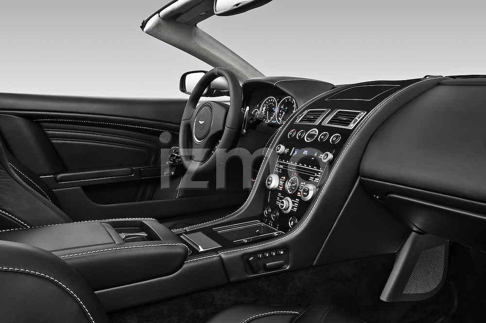 Passenger side dashboard view of a 2007 - 2012 Aston Martin DBS Volante Convertible.