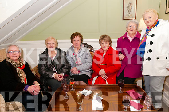 Women's Christmas: Listowel ladies celebrating Women's Christmas at the Listowel Arms Hotel on Saturady nigh last. L-R: Nell Reidy, Mary anne O'Connor, Mary Horgan, Noreen Flavin, Betty Heaphyn & Maura Lynch.