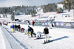 California: Northstar at Lake Tahoe, snowboard lessons.    Photo copyright Lee Foster.  Photo # cataho100419