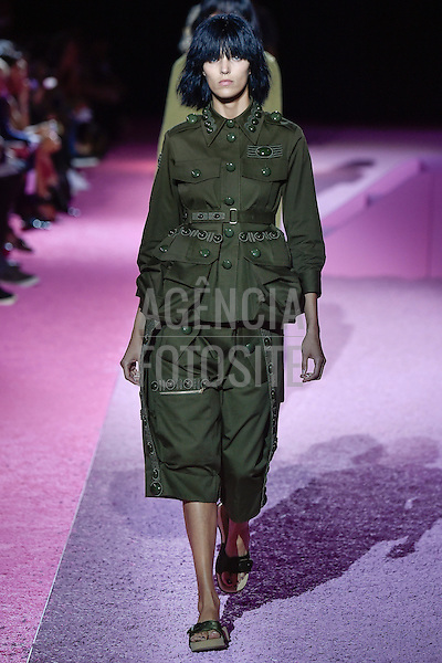 Nova Iorque, EUA 09/2014 - Desfile de Marc Jacobs durante a Semana de moda de Nova Iorque  -  Verao 2015. <br /> <br /> Foto: FOTOSITE