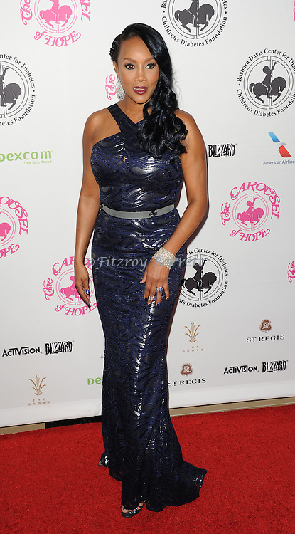 Vivica A. Fox arriving at The 2016 Carousel Of Hope Ball held at the Beverly Hilton Hotel Beverly Hills California October 8, 2016.
