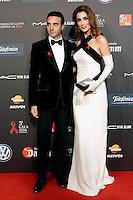 Spanish bullfighter Enrique Ponce and his wife Paloma Cuevas during Barcelona 5th AIDS Ceremony. November 24,2014.(ALTERPHOTOS/Acero) /NortePhoto<br />
