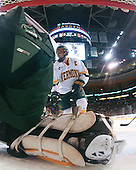 Mark Lutz (Vermont - 17) - The Boston College Eagles defeated the University of Vermont Catamounts 4-0 in the Hockey East championship game on Saturday, March 22, 2008, at TD BankNorth Garden in Boston, Massachusetts.