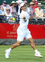 JUN 26 Aspall Tennis Classic - Kei Nishikori