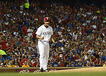 Yu Darvish (Rangers),<br /> AUGUST 30, 2013 - MLB :<br /> Yu Darvish of the Texas Rangers celebrates during the Major League Baseball game against the Minnesota Twins at Rangers Ballpark in Arlington in Arlington, Texas, United States. (Photo by AFLO)
