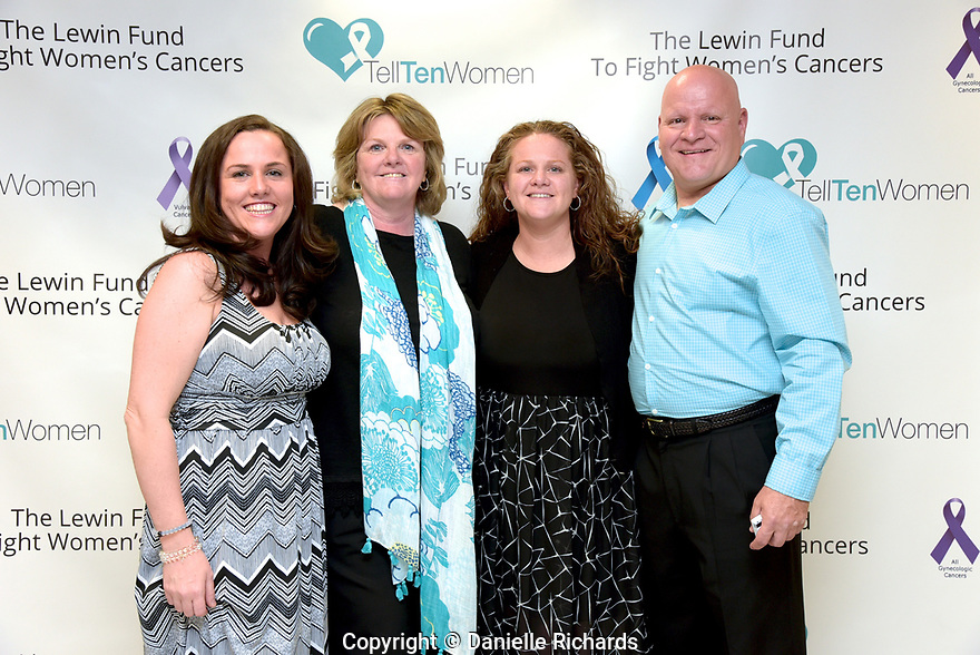 Lewin Fund event to raise awareness of women's cancers, April 30, 2017