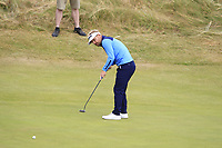 Soren Kjeldsen (DEN) on the 5th green during Round 3 of the Dubai Duty Free Irish Open at Ballyliffin Golf Club, Donegal on Saturday 7th July 2018.<br /> Picture:  Thos Caffrey / Golffile