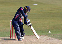 Alex Blake hits out for Kent during Kent Spitfires vs Essex Eagles, Vitality Blast T20 Cricket at The Spitfire Ground on 18th September 2020