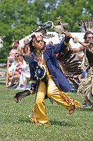 In full Regalia, at the Nanticoke Lenni-Lenapi Indian Pow Wow