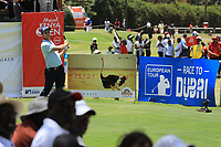 Adri Arnaus (ESP) in action during the final round of the Magical Kenya Open presented by ABSA played at Karen Country Club, Nairobi, Kenya. 17/03/2019<br /> Picture: Golffile | Phil Inglis<br /> <br /> <br /> All photo usage must carry mandatory copyright credit (&copy; Golffile | Phil Inglis)