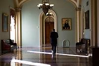 United States Senator Ed Markey (Democrat of Massachusetts) walks outside the US Senate Chamber in the US Capitol in Washington, DC on Friday, December 1, 2017. <br /> Credit: Alex Edelman / CNP /MediaPunch