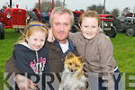 Clodagh, John and Rachel McKenna Listowel enjoying a family day out at the Castlemaine Vintage Rally on Sunday..