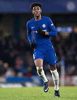 Jonathan Panzo of Chelsea U18 during the FA Youth Cup FINAL 1st leg match between Chelsea U18 and Arsenal U18 at Stamford Bridge, London, England on 27 April 2018. Photo by Andy Rowland.