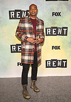 "LOS ANGELES - JANUARY 8: Brandon Victor Dixon attends a press junket for FOX's ""RENT"" on the Fox Studio Lot on January 8, 2019 in Los Angeles, California. (Photo by Frank Micelotta/Fox/PictureGroup)"