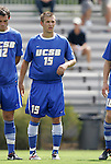 04 September 2011: UCSB's Dom Sarle. The University of California Santa Barbara Broncos defeated the North Carolina State University Wolfpack 1-0 at Koskinen Stadium in Durham, North Carolina in an NCAA Division I Men's Soccer game.