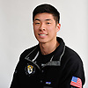 Michael Chang of St. Anthony's poses for a portrait during Newsday's All-Long Island boys swimming photo shoot at company headquarters in Melville on Friday, March 23, 2018.
