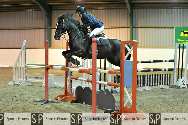 Class 8. Winter 128-138. British showjumping juniors. Brook Farm training centre. Essex. 23/09/2017. MANDATORY Credit Garry Bowden/Sportinpictures - NO UNAUTHORISED USE - 07837 394578