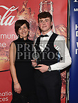 Anne McEnteggart presents the July award to Cormac Kerr at the Drogheda Independent Sports Star Awards in the Westcourt Hotel.  Photo:Colin Bell/pressphotos.ie