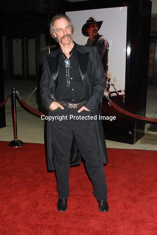 "©2003 Kathy Hutchins/ HUTCHINS PHOTO.""MONTE WALSH"" SCREENING.BURBANK, CA.JANUARY 8,2003.STEPHEN J. ROSS THEATER, WARNER BROTHERS STUDIO...KEITH CARRADINE"