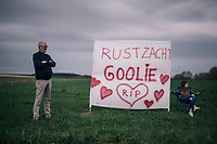 RIP Michael Goolaerts (BEL/V&eacute;randas Willems-Crelan)<br /> <br /> 58th De Brabantse Pijl 2018 (1.HC)<br /> 1 Day Race: Leuven - Overijse (BEL/202km)