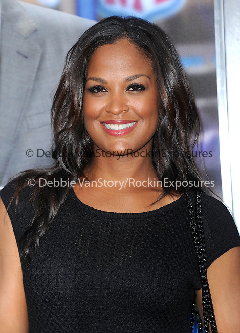 Laila Ali Conway attends The L.A. Premiere of Summit Entertainment's DRAFT DAY held at The Regency Village Theatre in Westwood, California on April 07,2014                                                                               © 2014 Hollywood Press Agency