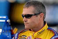 Apr 19, 2007; Avondale, AZ, USA; Nascar Nextel Cup Series driver Bobby Labonte (43) during qualifying for the Subway Fresh Fit 500 at Phoenix International Raceway. Mandatory Credit: Mark J. Rebilas