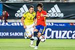 David Jimenez Silva of Spain during the friendly match between Spain and Colombia at Nueva Condomina Stadium in Murcia, jun 07, 2017. Spain. (ALTERPHOTOS/Rodrigo Jimenez)