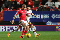 Josh MaGennis of Charlton Athletic in action during Charlton Athletic vs Bradford City, Sky Bet EFL League 1 Football at The Valley on 13th February 2018