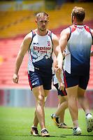 Rugby League World Cup. Ben Currie during England captain's run. Brisbane, Australia. 28 Nov 2017. Copyright photo: Patrick Hamilton / www.photosport.nz MANDATORY CREDIT/BYLINE : Patrick Hamilton/SWpix.com/PhotosportNZ