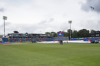 Rain interrupted play at Sophia Gardens during Afghanistan vs Sri Lanka, ICC World Cup Cricket at Sophia Gardens Cardiff on 4th June 2019