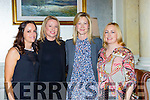Anette White, Elaine Golden, Fiona Ní Chonchubhair and teresa O'Donoghue at the Killarney Rotary fashion show in the Malton on Saturday