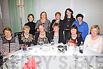 Organisers of the Waterville Community & Active Retired Group party on Sunday in the Waterville Lake Hotel, pictured here front l-r; Francis Everett, Anne Maher, Pat White, Mary O'Shea, Angela Hallissey, Betty O'Sullivan, back l-r; Amanda O'Sullivan, Marion O'Dwyer, Fiona Fitzpatrick, Trish O'Sullivan & Lorraine Regan.