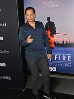 "LOS ANGELES, USA. June 06, 2019: Rico Simonini at the premiere for ""Ice on Fire"" at the LA County Museum of Art.<br /> Picture: Paul Smith/Featureflash"