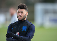 Alex Oxlade-Chamberlain of England during the England National Team Training ahead of the international friendly match with Italy at Tottenham Hotspur Training Ground, Hotspur Way, England on 26 March 2018. Photo by Vince  Mignott.