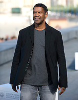 "Actor Denzel Washington attends a pohotocall to promote his film ""The Equalizer"" during the 62nd San Sebastian Film Festival on September 19, 2014, Basque country. (Ander Gillenea / Bostok Photo)"