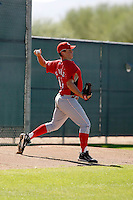 Mitchell Clarke - Cincinnati Reds 2009 Instructional League. .Photo by:  Bill Mitchell/Four Seam Images..