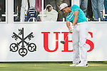 Hung Chien-yao of Taiwan tees off the first hole during the 58th UBS Hong Kong Golf Open as part of the European Tour on 10 December 2016, at the Hong Kong Golf Club, Fanling, Hong Kong, China. Photo by Marcio Rodrigo Machado / Power Sport Images
