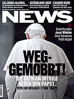 News Austrian Magazine Pope Benedict XVI Photograph by Stefano Spaziani