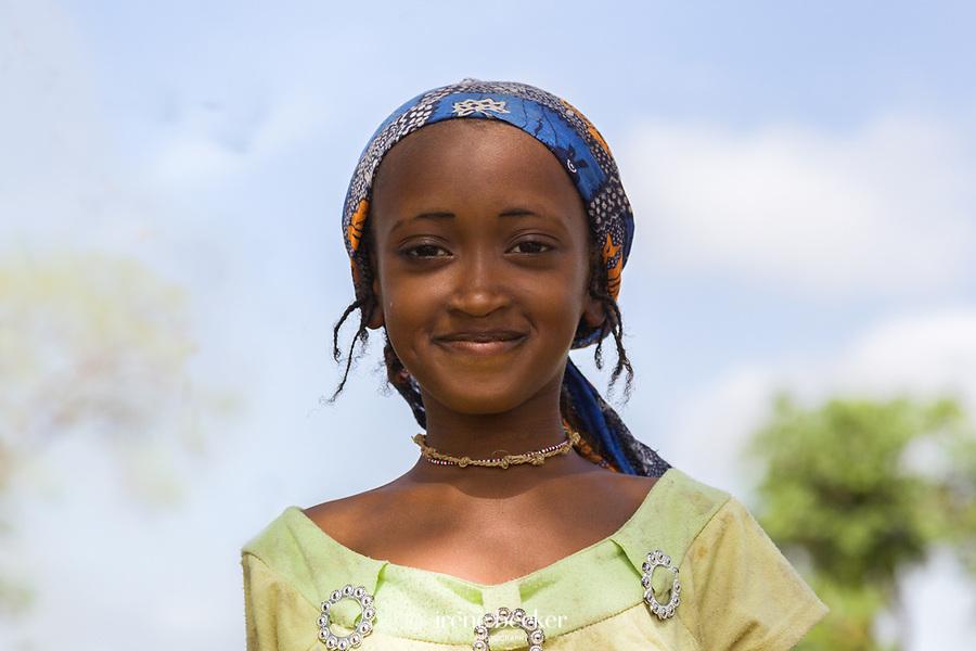 Fulani girl from Kajuru, Kaduna State, Nigeria.