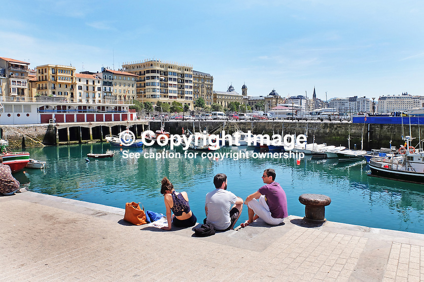 Harbour, San Sebastian, Donostia, Spain, May, 2015, 201505101032<br />