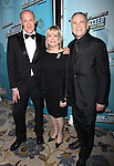 Craig Zadan, Candy Spelling and Neil Meron.attending the Opening Night Performance After Party for  'How To Succeed In Business...' in New York City.